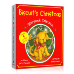 英文原版绘本 小饼干 Biscuit's Christmas Storybook Collection 精装大开图画书