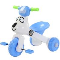 儿童礼品自行车儿童三轮车脚踏车可折叠带音乐带灯光2-3-4-5岁宝宝自行车