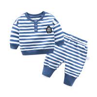 女童休闲洋气套装婴儿春装运动裤子1岁3个月男宝宝春秋季卫衣外套
