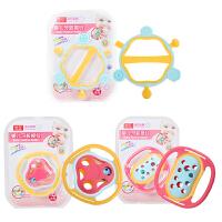 手摇铃6-12个月0-1岁3宝宝男女孩礼盒婴儿玩具牙胶