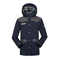 男士夹克外套新款连帽短款男装 秋冬季青年