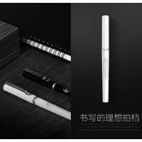晨光速干直液式走珠笔签字笔考试笔办公大容量水性黑笔中性笔
