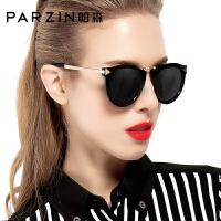 太阳眼镜女 大框圆脸时尚复古女士潮流驾驶偏光镜墨镜女