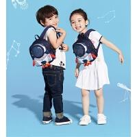 儿童幼儿园1-3-5岁宝宝婴儿小书包火箭男女童小孩双肩背包