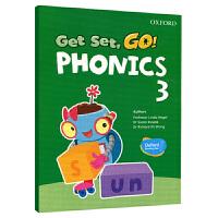 Oxford Get Set Go Phonics 3 牛津自然拼读教材学生用书 英文原版书 牛津幼儿英语启蒙教材 英文