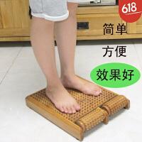 实木脚底按摩器 木质穴位滚轮式 家用足疗器 木制搓排