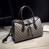 新款时尚波士顿女包枕头包欧美潮流斜挎百搭单肩包手提大包包