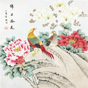 李晓明《锦上添花》著名画家
