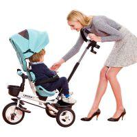 儿童三轮车脚踏车宝宝自行车童手推车1-5岁折叠