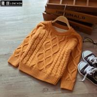 新款冬装儿童装毛衣小童针织衫加绒男女童毛衣打底针织衫