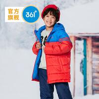 【1件3.5折到手价:209.6】361度男童装 男中大童羽绒服外套冬季新品 N51842960