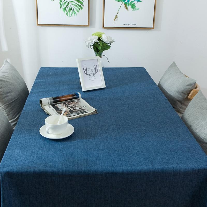铭聚布艺防水防油餐桌布pvc简约桌布台布成品桌布定制pvc材质防水防油