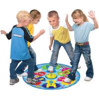 儿童幼儿户外运动音乐抢椅子游戏毯玩具生日礼品