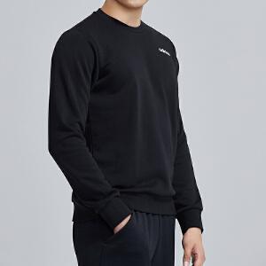 adidas阿迪达斯男服卫衣2019新款圆领套头衫运动休闲运动服DU0395