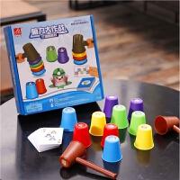 儿童益智类玩具打地鼠亲子互动桌面竞技游戏专注力训练3-6岁宝宝