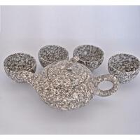 麦饭石茶具套装麦饭石茶壶茶杯水杯深层麦饭石功夫茶具套纯手工天然