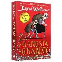 Gangsta Granny 了不起的大盗奶奶 英文原版 大卫少年幽默小说系列 罗尔德达尔继承人David Wallia