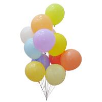 马卡龙气球单球婚礼婚房装饰气球拱门生日派对布置宝宝百天节庆用