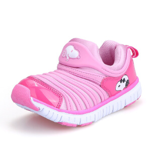 史努比童鞋毛毛虫童鞋儿童运动鞋舒适毛毛虫鞋