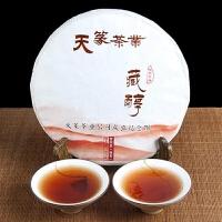 2016年 天篆 藏醇纪念饼 茶叶 普洱茶熟茶 357克/饼 14饼