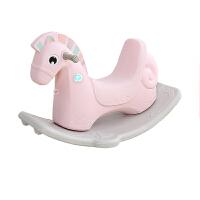 儿童木马摇摇车玩具宝宝摇摇马塑料大号加厚两用1-6周岁带音乐