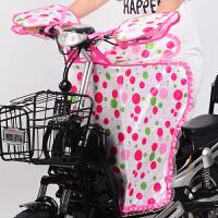 电动车挡风被分体夏季防晒罩防风防雨防走光电瓶踏板摩托车遮阳罩
