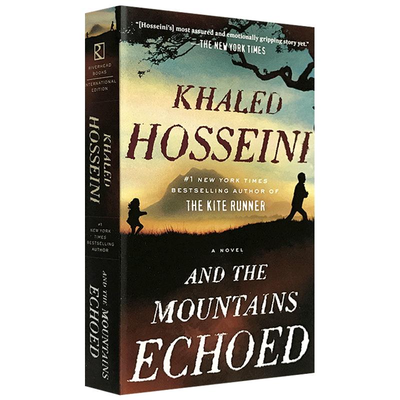 正版 群山回唱 英文原版小说 And the Mountains Echoed 追风筝的人 The Kite Runner 作者卡勒德胡赛尼续作 英文版进口英语书籍 关于背叛、流亡、自我牺牲和亲情力量的传奇