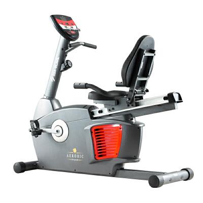 SHUA/舒华 商用卧式健身车 SH-5000R 磁控调节 商用,8段手动磁控调节,设有握心率。
