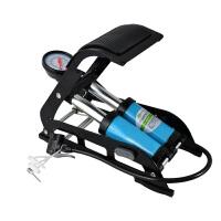 自行车脚踏便携打气筒高压式电动车摩托车汽车脚踩充气泵 骑行装备