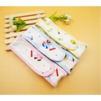 宝宝尿布带可调节加宽纯棉纸尿片固定松紧带子新生婴儿绑尿布扣带
