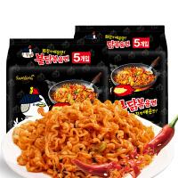 韩国进口方便面三养火鸡面140g*10 炒面超辣泡面鸡肉味即食干拌面