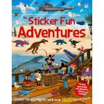 【预订】Sticker Fun Adventures: Create Scenes with Over 1500 St