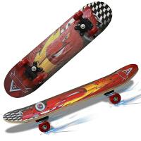 【买一赠三】捷�N儿童滑板 初学者 儿童小孩青少年双翘板轮四轮滑板车