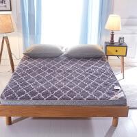 剪花绒高档海绵床垫1.5m1.8米双人床折叠床垫榻榻米记忆棉床褥子