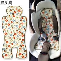 韩国jellypop婴儿推车凉席儿童安全座椅坐垫通用凉垫冰垫夏季 2 owl olive 其它 68*33cm