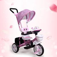 儿童三轮车脚踏车1-2-3-5-6岁男孩女孩自行车宝宝手推车