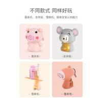 小猪彩泥无毒橡皮泥模具工具套装儿童冰淇淋粘土女孩玩具面条机