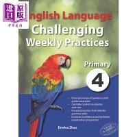 【中商原版】Primary 4 English Language Challenging Weekly Practice