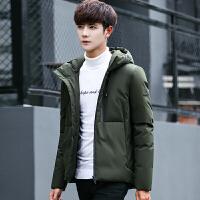 冬装新款男士短款羽绒服男潮流韩版修身男装帅气学生男款外套