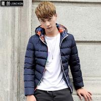 冬季羽绒服男短款韩版潮流修身青少年中学生男士轻薄服帅气