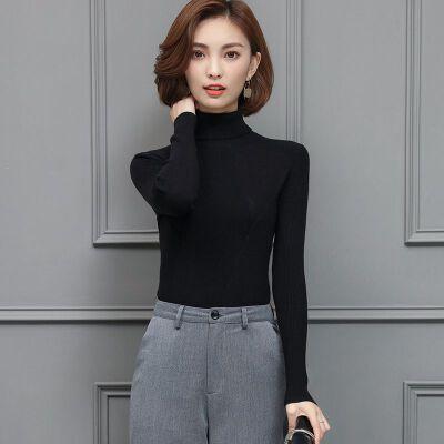 新款秋冬季保暖加厚羊毛衫女修身高领毛衣短款套头针织打底衫 一般在付款后3-90天左右发货,具体发货时间请以与客服协商的时间为准