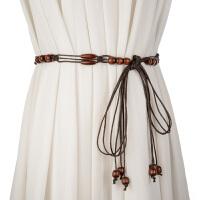 时尚民族风编织腰带 流苏装饰女士细腰带裙子腰绳时尚百搭裙带 女