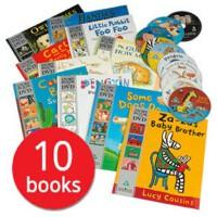 10本世界经典获奖英文绘本含DVD 英文原版 More Time For a Story DVD套装10册 Guess