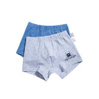 安踏儿童配饰 儿童运动内裤组2条装合装39844881官方专柜同款 灰色、宝蓝色