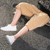男童短裤夏装2018新款韩版裤子儿童单裤中大童运动五分裤童装薄款