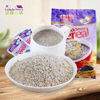 新加坡进口金祥麟黑芝麻麦片250g(10小袋)冲饮即食营养早餐麦片