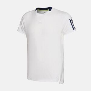 adidas阿迪达斯男装短袖T恤2018年新款网球运动服S98962