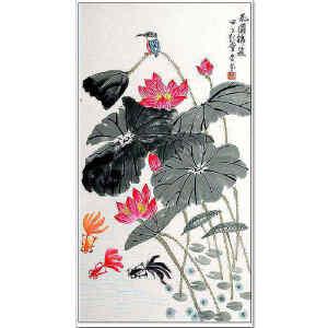 吴杏芬  《花团锦簇》