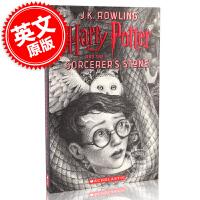 现货 哈利波特与魔法石20周年纪念版1 英文原版 Harry Potter and the Sorcerer's Ph