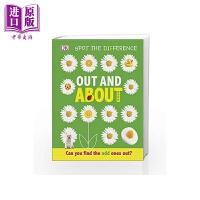 【中商原版】DK:Out and About DK点点启蒙:由内至外 英文原版 进口图书 亲子低幼 触摸纸板书 2-5岁